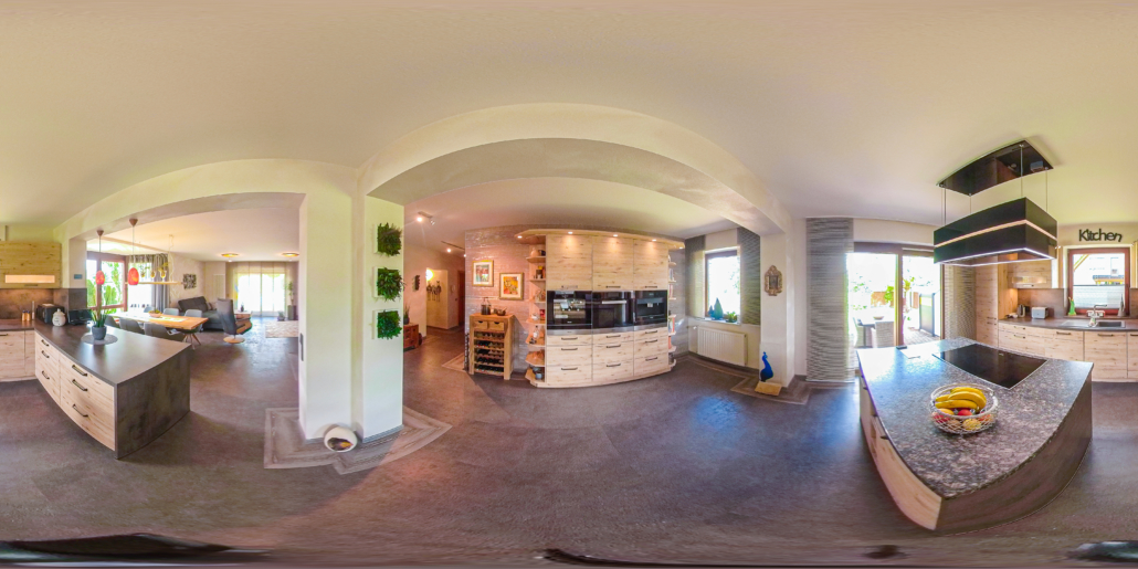 Küche in 360 Grad